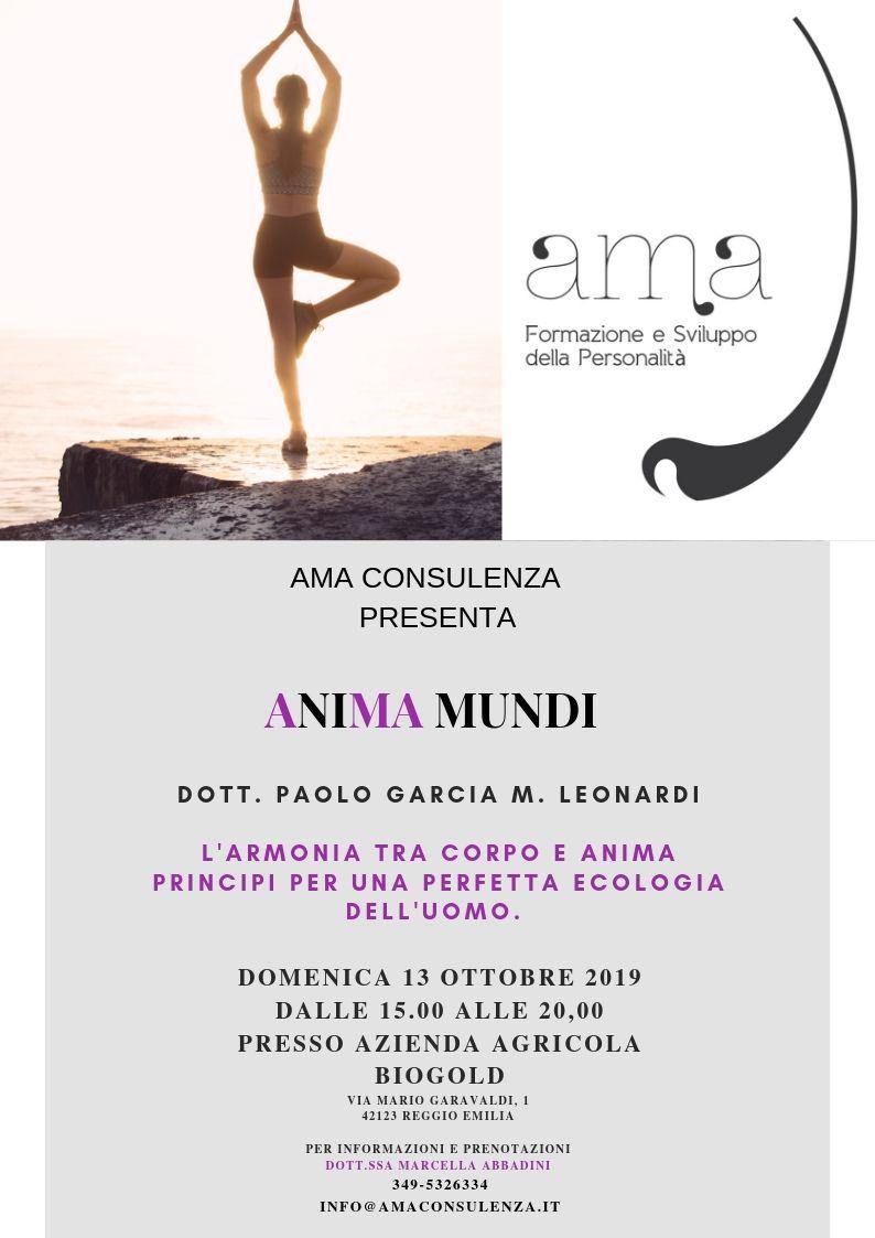 Anima Mundi Evento Marcella Abbadini Paolo Garcia